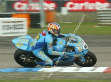 Suzuki RIZZLA Superbike. Shakey Byrne  Thruxton 2006 British Superbikes . photo